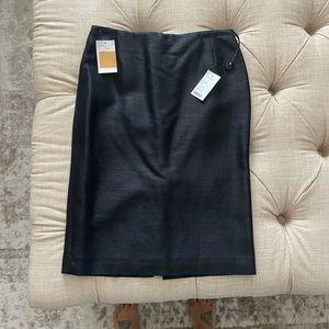 Black Alexander McQueen skirt